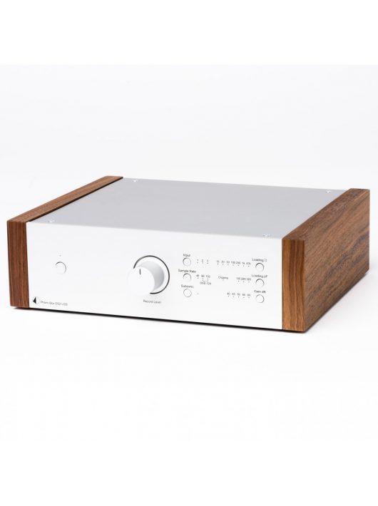 Pro-Ject Phono Box DS2 USB, ezüst /dió oldallap