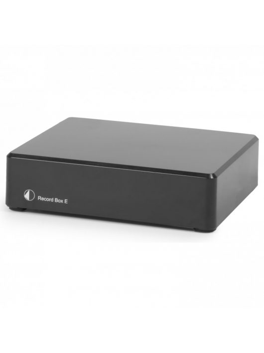 Pro-Ject Record Box E - Phono előerősítő  USB kimenettel, fekete