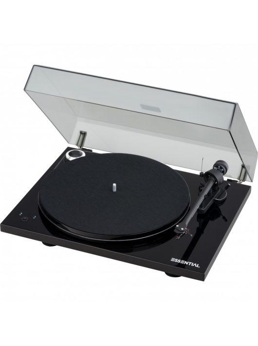 Pro-Ject Essential III SB analóg lemezjátszó /lakk fekete/