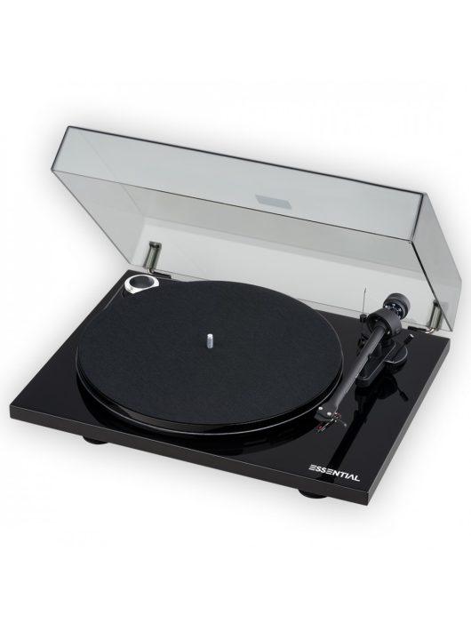 Pro-Ject Essential III BT Bluetooth-os analóg lemezjátszó /lakk fekete/