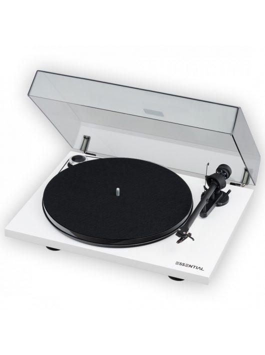 Pro-Ject Essential III RecordMaster analóg lemezjátszó /lakk fehér/