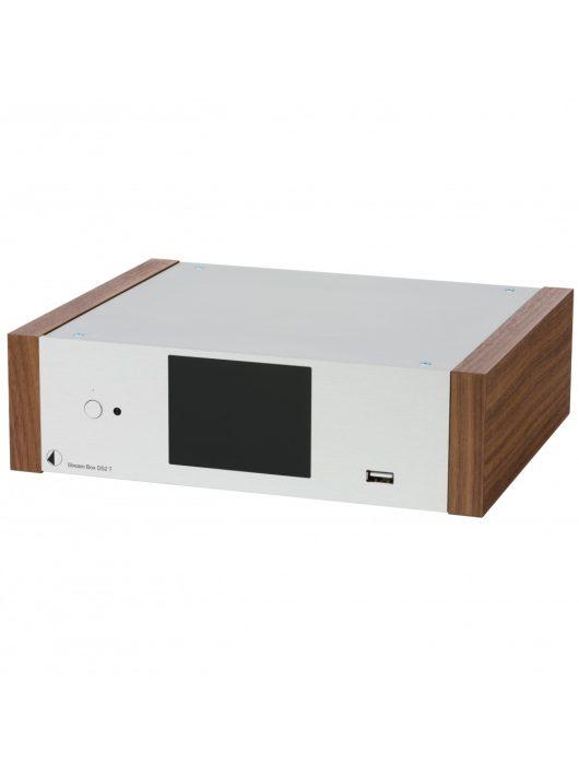 Pro-Ject Stream Box DS2 T, ezüst / dió oldallap