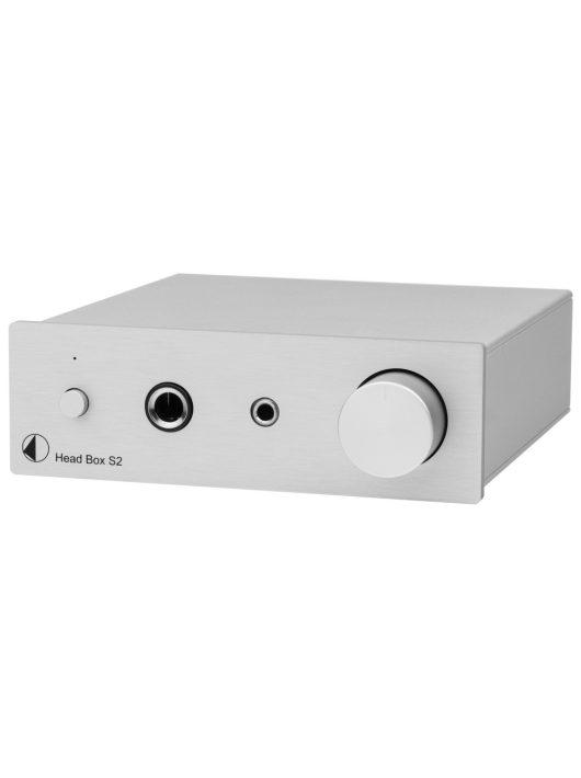 Pro-Ject Head Box S2 fejhallgató erősítő, ezüst