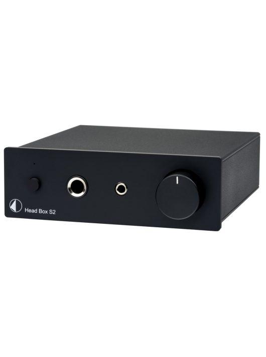Pro-Ject Head Box S2 fejhallgató erősítő, fekete