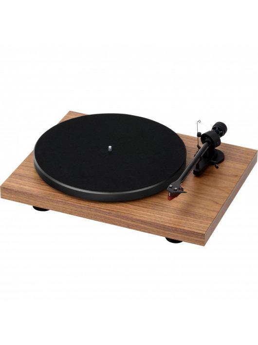 Pro-Ject Debut Carbon DC lemezjátszó /Ortofon 2M-Red/ , dió színben