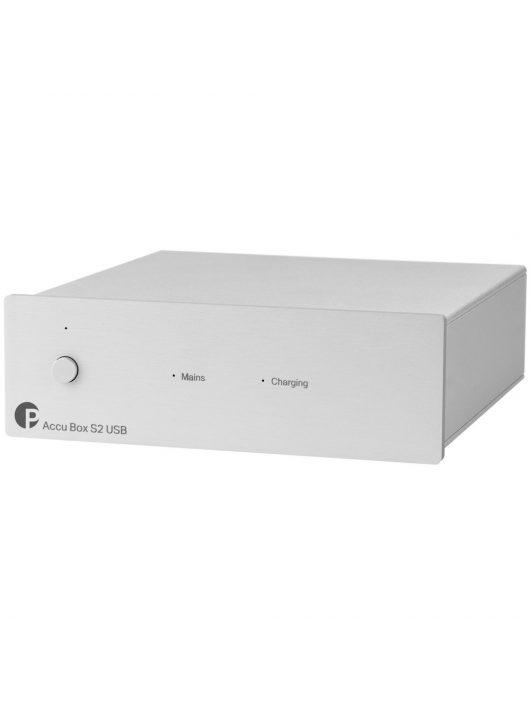 Pro-Ject Accu Box S2 USB akkumulátoros tápegység /Ezüst/