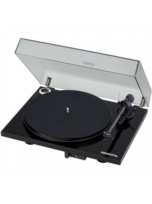 Pro-Ject Essential III HP analóg lemezjátszó /lakk fekete/