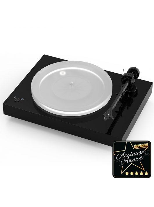 Pro-Ject X2 új generációs audiofil lemezjátszó / Pick it 2M Silver hangszedővel / Lakk fekete