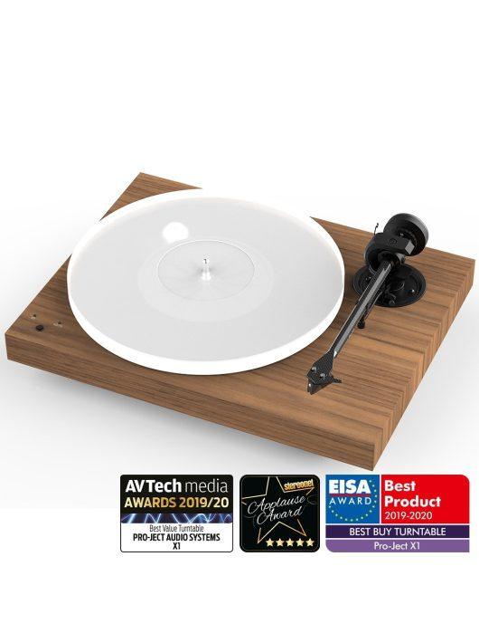 Pro-Ject X1 - új generációs audiofil lemezjátszó / Pick it S2 MM hangszedővel /Dió