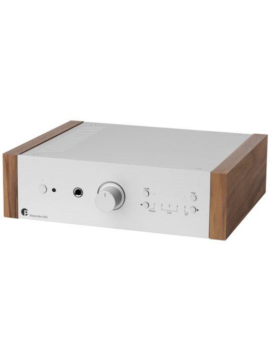 Pro-Ject Stereo Box DS2 integrált erősítő, ezüst / dió oldallap