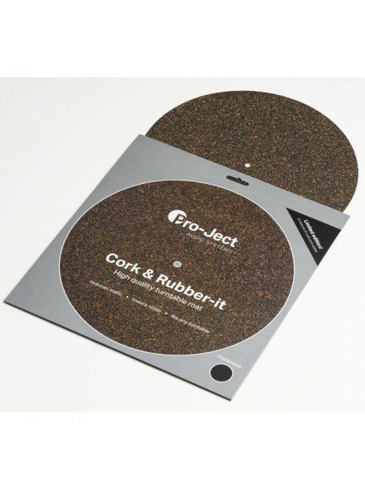 Pro-Ject Cork & Rubber it lemezalátét 3mm-es