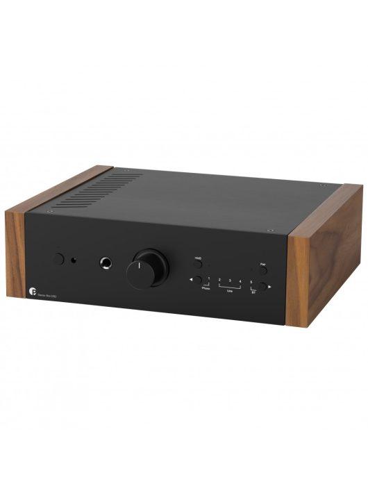 Pro-Ject Stereo Box DS2 integrált erősítő, fekete / dió oldallap
