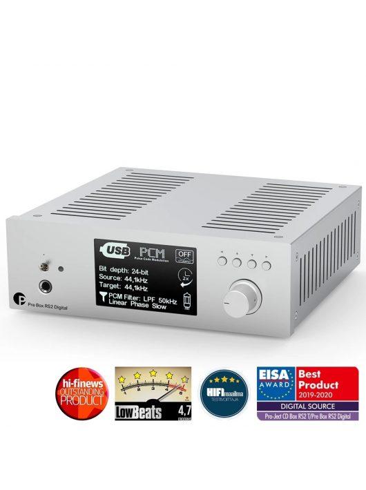 Pro-Ject Pre Box RS2 Digital, ezüst
