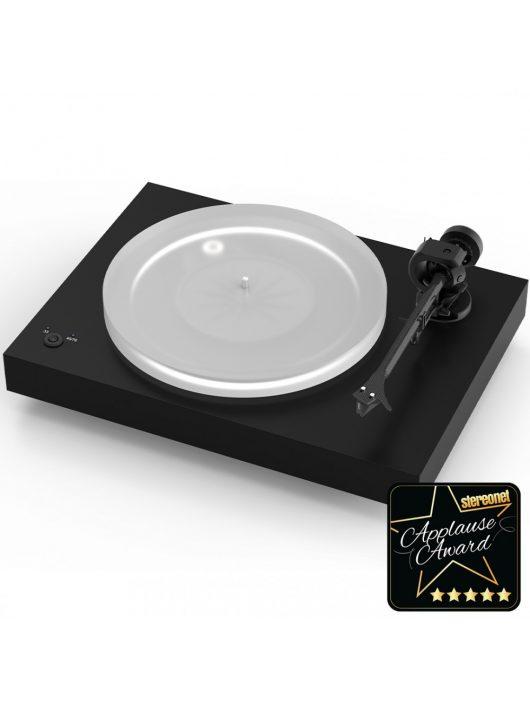 Pro-Ject X2 új generációs audiofil lemezjátszó / Pick it 2M Silver hangszedővel / Satin fekete
