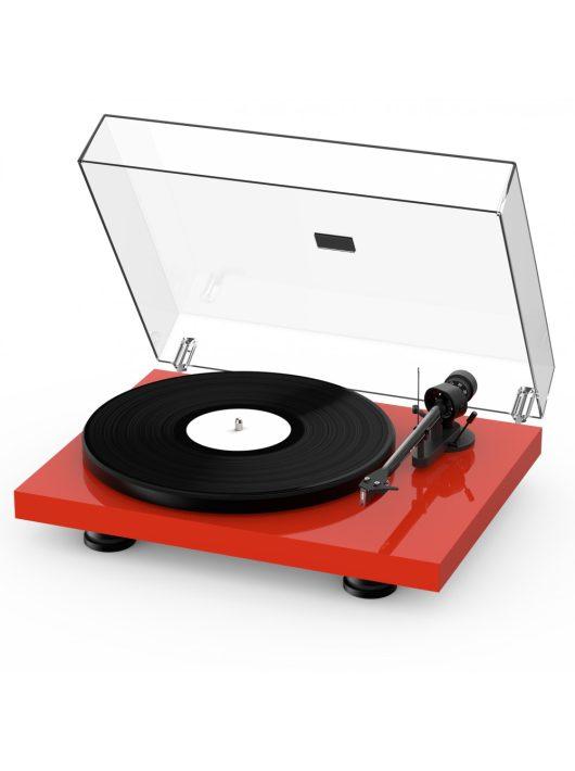 Pro-Ject Debut Carbon EVO lemezjátszó /Ortofon 2M-Red/ , lakk voros