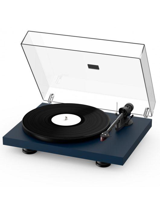 Pro-Ject Debut Carbon EVO lemezjátszó /Ortofon 2M-Red/ , szatén acél kék