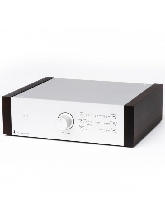 Pro-Ject Phono Box DS2 USB, ezüst /eucalyptus oldallap