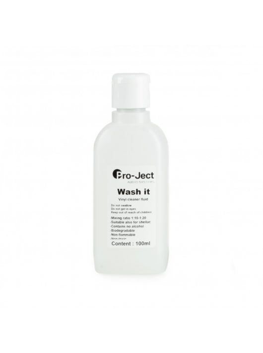 Pro-Ject Wash it mosókoncentrátum VC-S és VC-E lemezmosóhoz, 100 ml