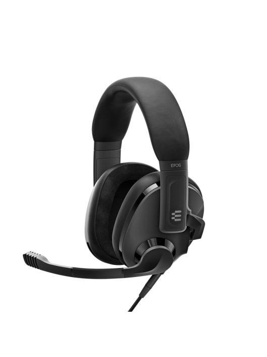 EPOS H3 Black - Gamer fejhallgató (Sennheiser)