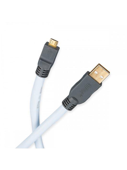 Supra USB 2.0 A-MICRO B összekötő kábel /1 méter/