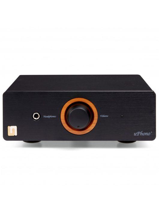 Unison Research uPhono - phono előerősítő, A/D konverter és fejhallgató erősítő /Fekete/
