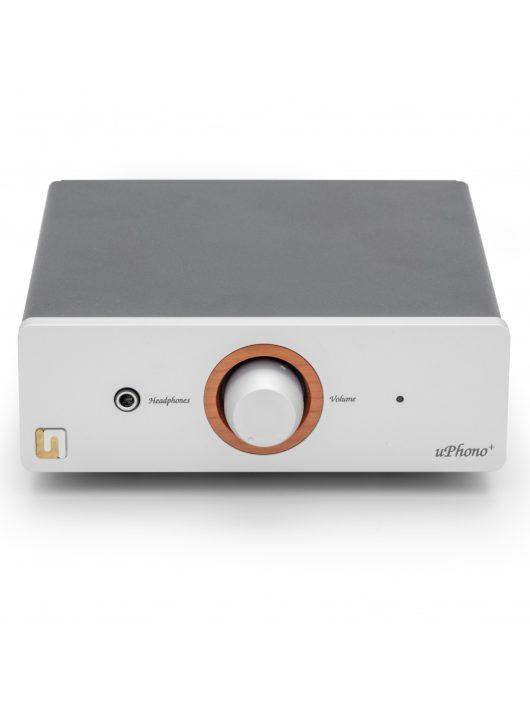Unison Research uPhono - phono előerősítő, A/D konverter és fejhallgató erősítő /Ezüst/
