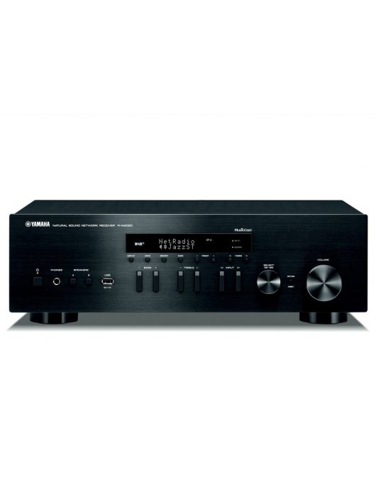 Yamaha R-N402D sztereó rádió/erősítő hálózatos lejátszással (MusicCast), fekete