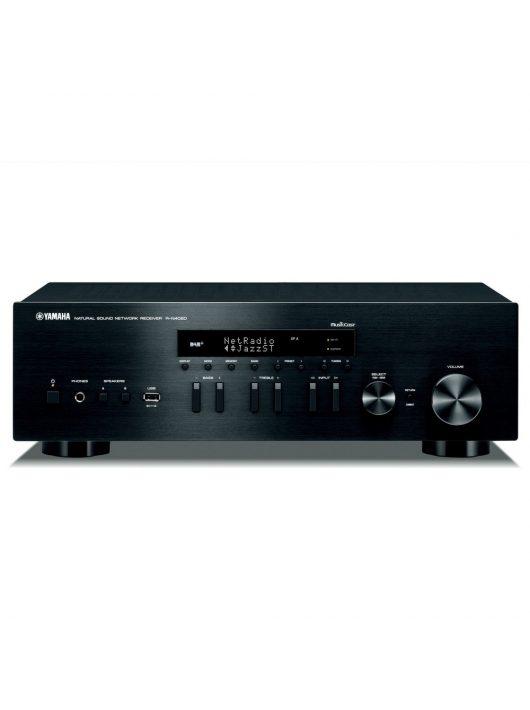 Yamaha R-N602 sztereó rádió/erősítő hálózatos lejátszással (MusicCast), fekete színben