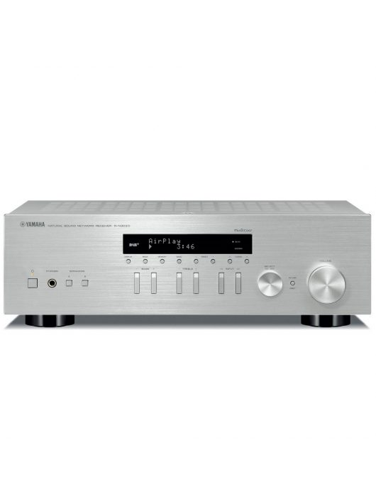 Yamaha R-N303D sztereó rádió/erősítő hálózatos lejátszással, ezüst