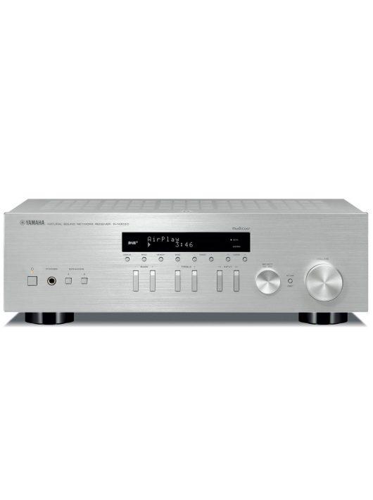 Yamaha R-N303D sztereó rádió/erősítő hálózatos lejátszással /ezüst/