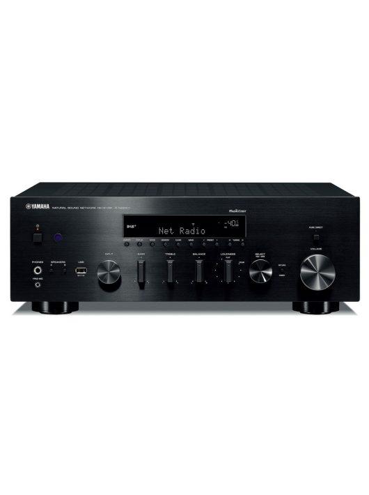 Yamaha R-N803D sztereó hálózati rádióerősítő hálózatos lejátszással (MusicCast), fekete