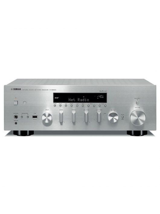 Yamaha R-N803D sztereó hálózati rádióerősítő hálózatos lejátszással (MusicCast), ezüst