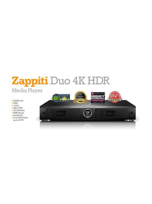 ZAPPITI DUO 4K HDR Multimédia lejátszó