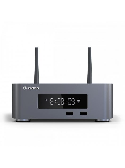 Zidoo Z10Pro 4K, HDR, HDR+, Dolby Vision médialejátszó, Roon támogatással