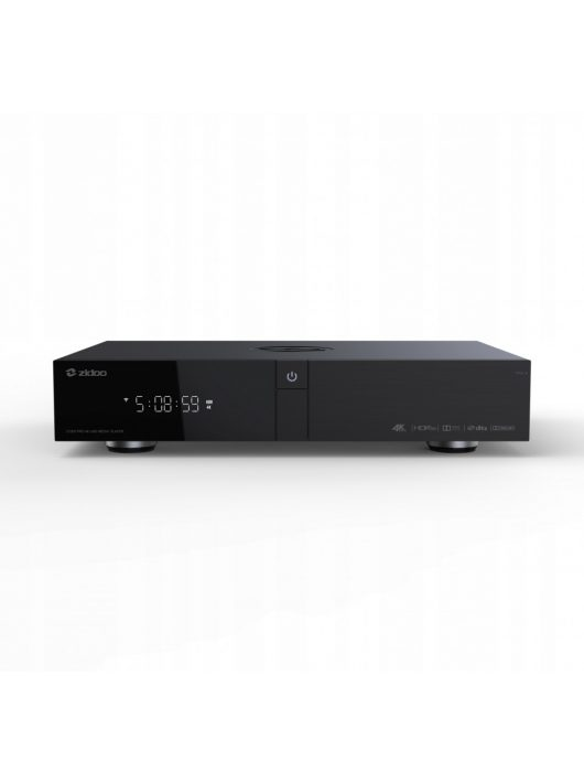 Zidoo Z1000Pro 4K, HDR, HDR+, Dolby Vision médialejátszó, Roon támogatással