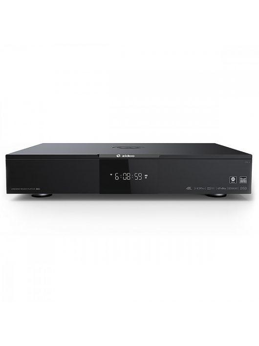 Zidoo UHD3000 4K, HDR és Dolby Vision médialejátszó, MQA támogatással