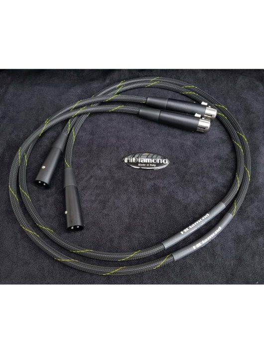 HiDiamond DIAMOND 0 Audiophile interkonnekt kábel XLR-XLR /1 méter/