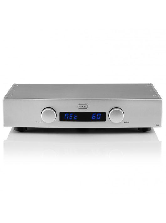 HEGEL HD30 High-end DAC és hálózati lejátszó /ezüst/