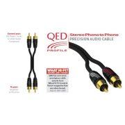 QED PROFILE Sztereó kábel [2x RCA M - 2x RCA M] - 1méter