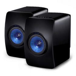 KEF LS50 wireles vezeték nélküli aktív hangsugárzó /Zongoralakk fekete/kék/