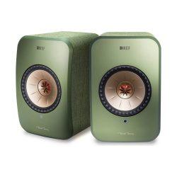 KEF LSX vezeték nélküli, aktív hangsugárzó /Zöld (Olive Green)/