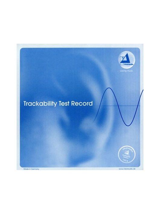 TRACKABILITY TEST RECORD