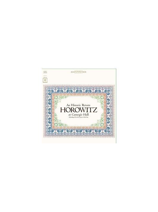 Horowitz At Carnegie Hall