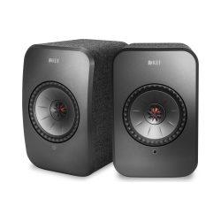 KEF LSX vezeték nélküli, aktív hangsugárzó /Fekete/
