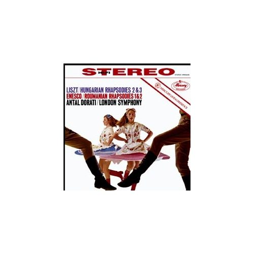 Enesco: Roumanian Rhapsodies / Liszt: Hungarian Rhapsodies