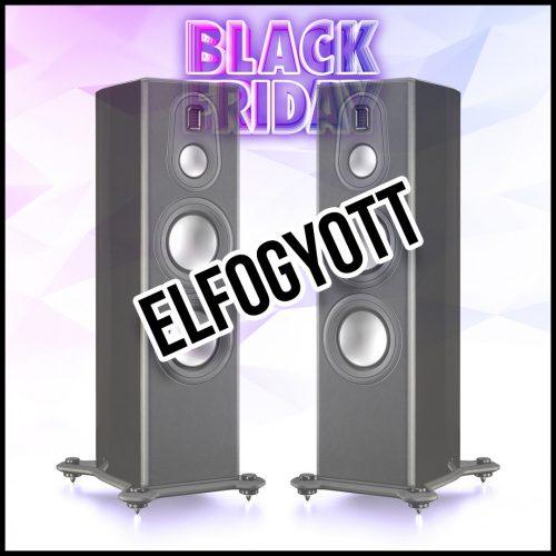 Monitor Audio Platinum PL300 II hangfalpár, lakk fekete- csak 1 pár ezen az áron