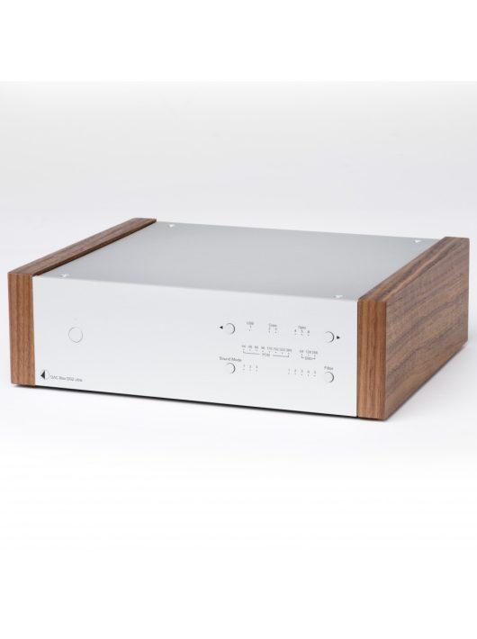 Pro-Ject DAC Box DS2 Ultra, ezüst, fa oldallappal