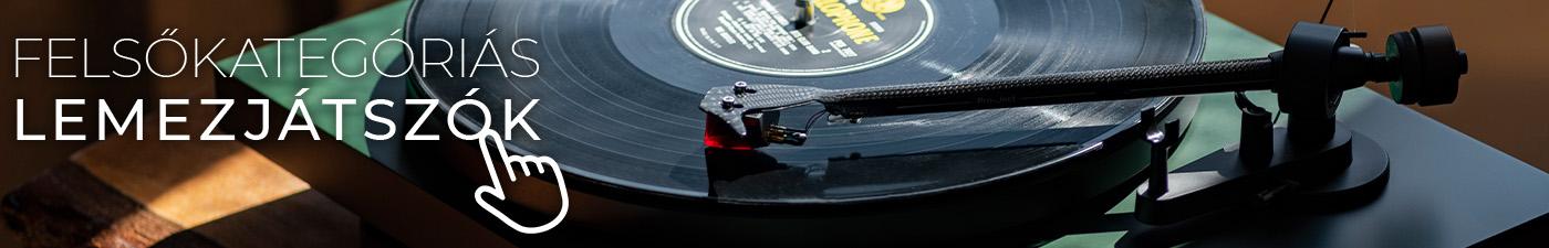 Felsőkategóriás lemezjátszók