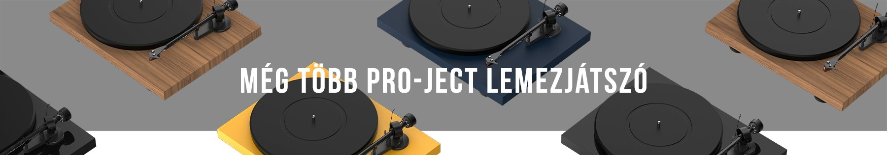 Még több Pro-Ject lemezjátszó