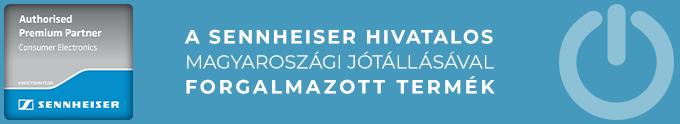 Hivatalos Sennheiser jótállással - Audio Centrum